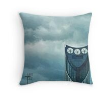 Strata Tower in London Throw Pillow