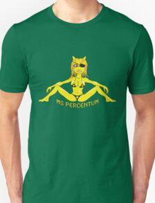 Ms. Percentum Unisex T-Shirt