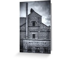 Hart's Mill 3 (mono) Greeting Card