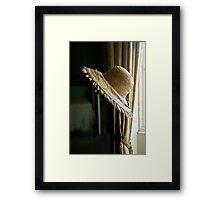 The Hat Framed Print