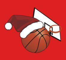 Christmas Basketball Baby Tee
