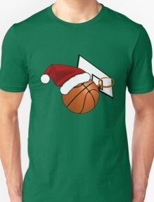 Christmas Basketball Unisex T-Shirt