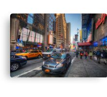 NYC Random Scene Canvas Print