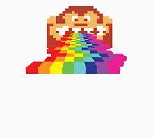 8 Bit Donkey Kong Rainbow Unisex T-Shirt