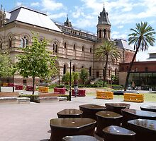 The Mortlock Library! North Terrace, Adelaide, Sth. Aust. by Rita Blom