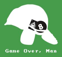 Game Over, Man - White One Piece - Short Sleeve