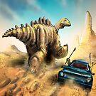Dinosaur Hunt by Matt Bissett-Johnson