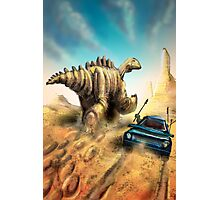 Dinosaur Hunt Photographic Print