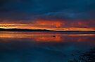Stormy Sunset by bazcelt
