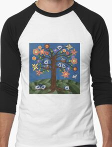 BIRDIE TREE T-SHIRT Men's Baseball ¾ T-Shirt