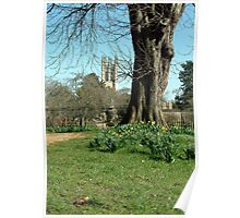 Magdalen College Tower Poster