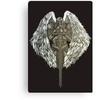 Guardian Angel Knight Canvas Print