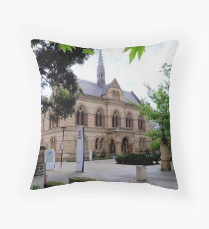 'The Mitchell Building' Adelaide Original Uni., bldg. North Terrace. Throw Pillow