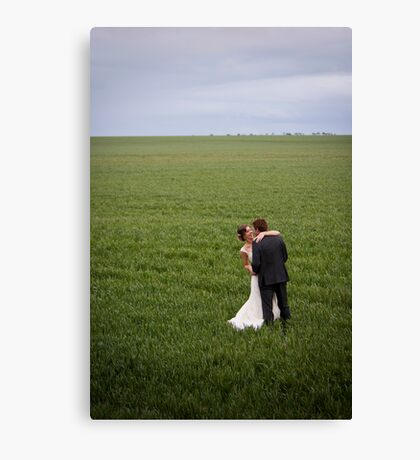 Mr and Mrs Shepherd Canvas Print