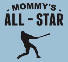Mommy's All-Star Baseball Baby Tee
