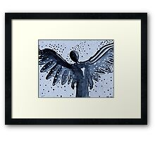 The Lonely Angel Framed Print