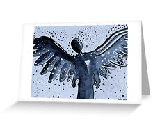 The Lonely Angel Greeting Card