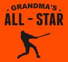 Grandma's All-Star Baseball Kids Tee