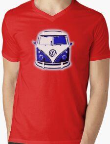 Splittie Graphic Mens V-Neck T-Shirt