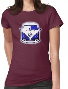 Splittie Graphic Womens Fitted T-Shirt
