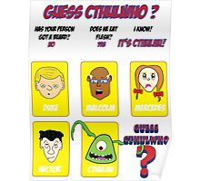Guess CthulWho? Poster