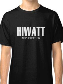 White Hiwatt Amp Classic T-Shirt