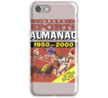 BTTF FRONT COVER ALMANAC iPhone Case/Skin