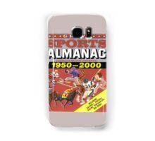 BTTF FRONT COVER ALMANAC Samsung Galaxy Case/Skin