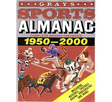 BTTF FRONT COVER ALMANAC Photographic Print