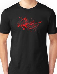 FATAL FURY Blood Splatter T  Unisex T-Shirt