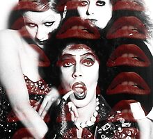 FrankNFurter,Magenta and Columbia  by Paige Defelice