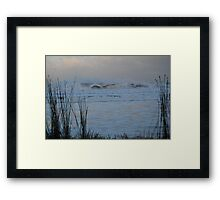 King Neptune is Angry - Great Ocean Road, Victoria Framed Print