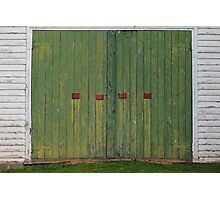 Coppers Doors - Rosedale, Victoria Photographic Print