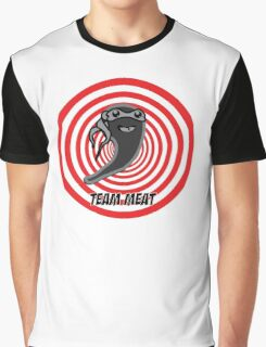 Hypnotic Chop - Team Meat Logo  Graphic T-Shirt