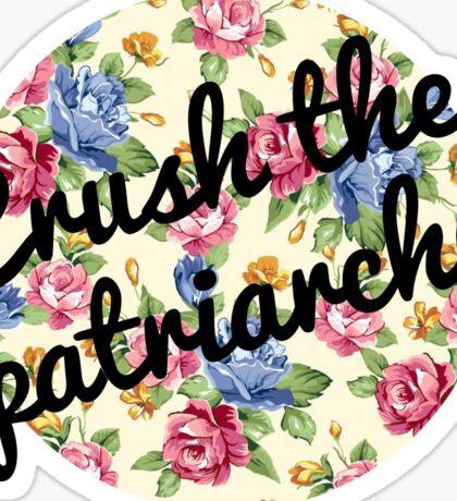 Crush the Patriarchy Sticker