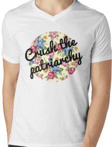 Crush the Patriarchy Mens V-Neck T-Shirt