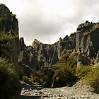 Putangirua Pinnacles by joergilmaz
