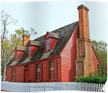 A Red House by RickDavis
