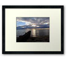 Loch Sport Sunset - Victoria Framed Print