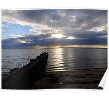 Loch Sport Sunset - Victoria Poster