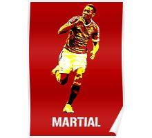 Anthonny Martial Manchester United Poster