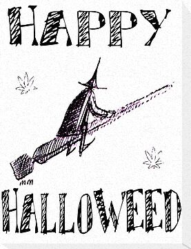 Happy Halloweed- flying fume-stick by mouseman