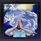 'SELF-PORTRAIT WITH HEAD IN CLOUDS' by Jerry Kirk