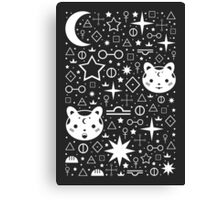 Alchemical Star Kittens Canvas Print