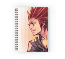 VIII 'THE FLURRY OF DANCING FLAMES' - KINGDOM HEARTS AXEL NOTEBOOK Spiral Notebook