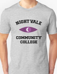 Welcome To Night Vale - Night Vale Community College Design With Eye - White T-Shirt