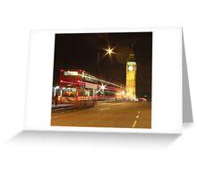 Harry Potter Bus, London, England, UK * Greeting Card