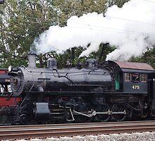 Strasburg train by Penny Rinker