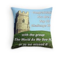 tor top ten Throw Pillow
