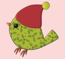Christmas Holly Birdie Kids Clothes